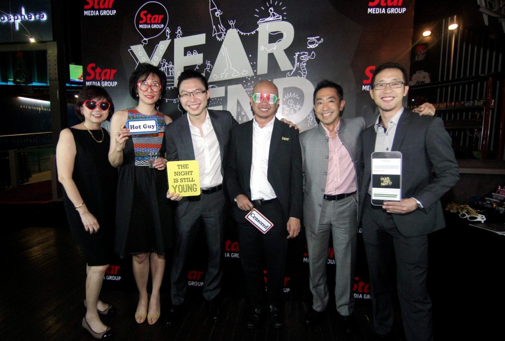 (From left) Star Media Group Berhad advertising and business development senior general manager Chin Seow Ping, editor-in-chief Datuk Leanne Goh, Performance Management and Delivery Unit (Pemandu) Communications senior analyst Joshua Foong, Government Transformation Programme Communications senior manager Zaid Karim Shaari, Communications director Alex Iskandar Liew and Government Transformation Programme Communications manager Lee Yip Cheong.